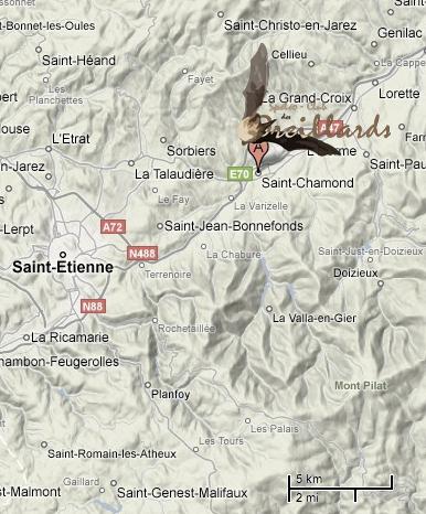 Historique du Spléléo Club de Oreillards de Saint Chamond