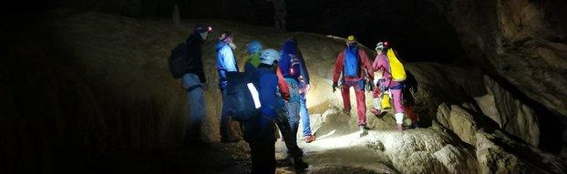 Grotte de Gournier dans le Vercors